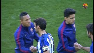 FC Barcelona 2 - Real Sociedad 0 (1 minuto)