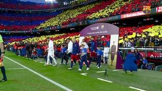 Johan Cruyff, homenatjat al Camp Nou en una nit molt especial