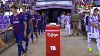 Real Valladolid – FC Barcelona B: Retorn per la porta gran (1-2)