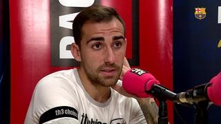 """Paco Alcácer: """"El més important és que entri el primer"""""""
