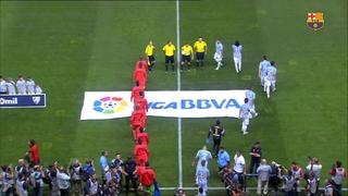 Málaga 0 - FC Barcelona 0 (5 minutes)
