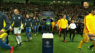 Bate Boríssov 0 - FC Barcelona 2 (3 minuts)