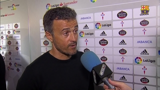 "Luis Enrique: ""We will pick ourselves up for the next game"""