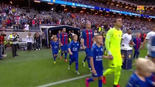 FC Barcelona 4 - Leicester 2 (1 minute)