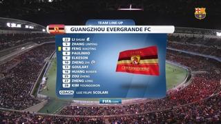 FC Barcelona 3 - Guangzhou Evergrande 0