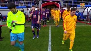 SD Eibar 0 – FC Barcelona 4 (3 minutos)