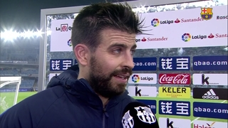 "Piqué: ""They did not allow us to play our game with their high pressing"""