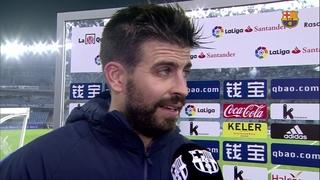 """Piqué: """"La Reial ha fet un magnífic partit"""""""