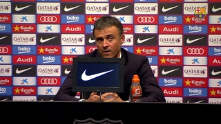"Luis Enrique: ""The win is thanks to the whole team"""