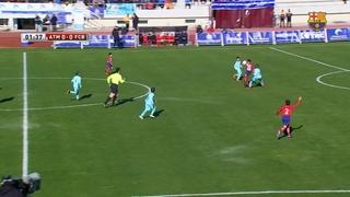 Atlético de Madrid 1 - Benjamí A 1 (ISCAR Cup)