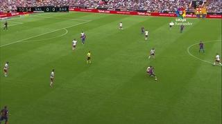 València 2 - FC Barcelona 3 (3 minuts)