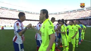Atlètic de Madrid 0 - FC Barcelona 1