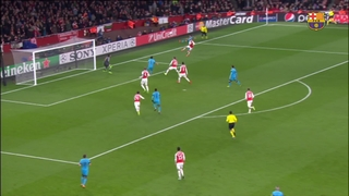 Arsenal FC 0 – FC Barcelona 2 (1 minute)