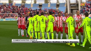 Almeria 1 - FC Barcelona 2