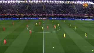 Villarreal 1 - FC Barcelona 3 (5 minutes)