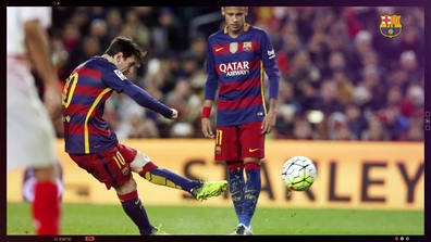 All of Leo Messi's free kick goals for FC Barcelona