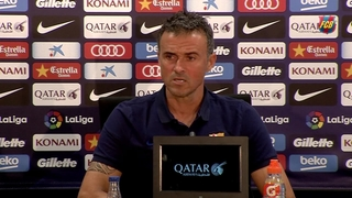 Luis Enrique playing it close to the vest against his friend and former club
