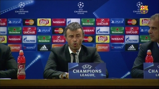 'We deserved more' claims Luis Enrique