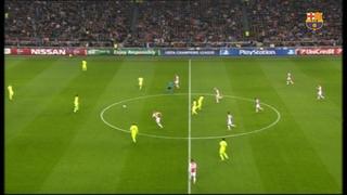 Ajax 0 - FC Barcelona 2 (3 minuts)
