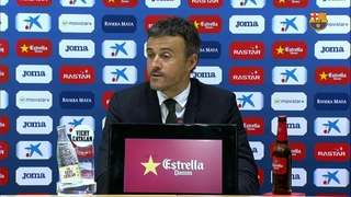 Luis Enrique says Espanyol showed great intensity