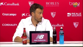Luis Enrique susprised at lack of goals
