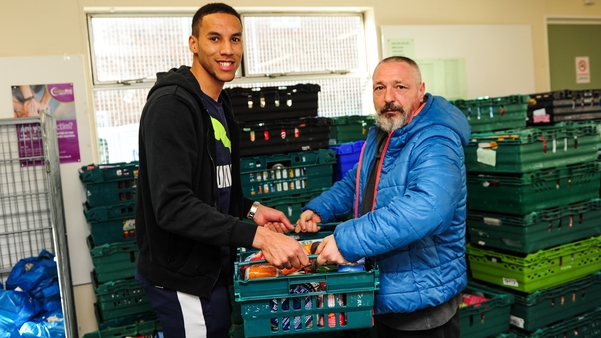 Newcastle United Isaac Hayden Visits Newcastle West End