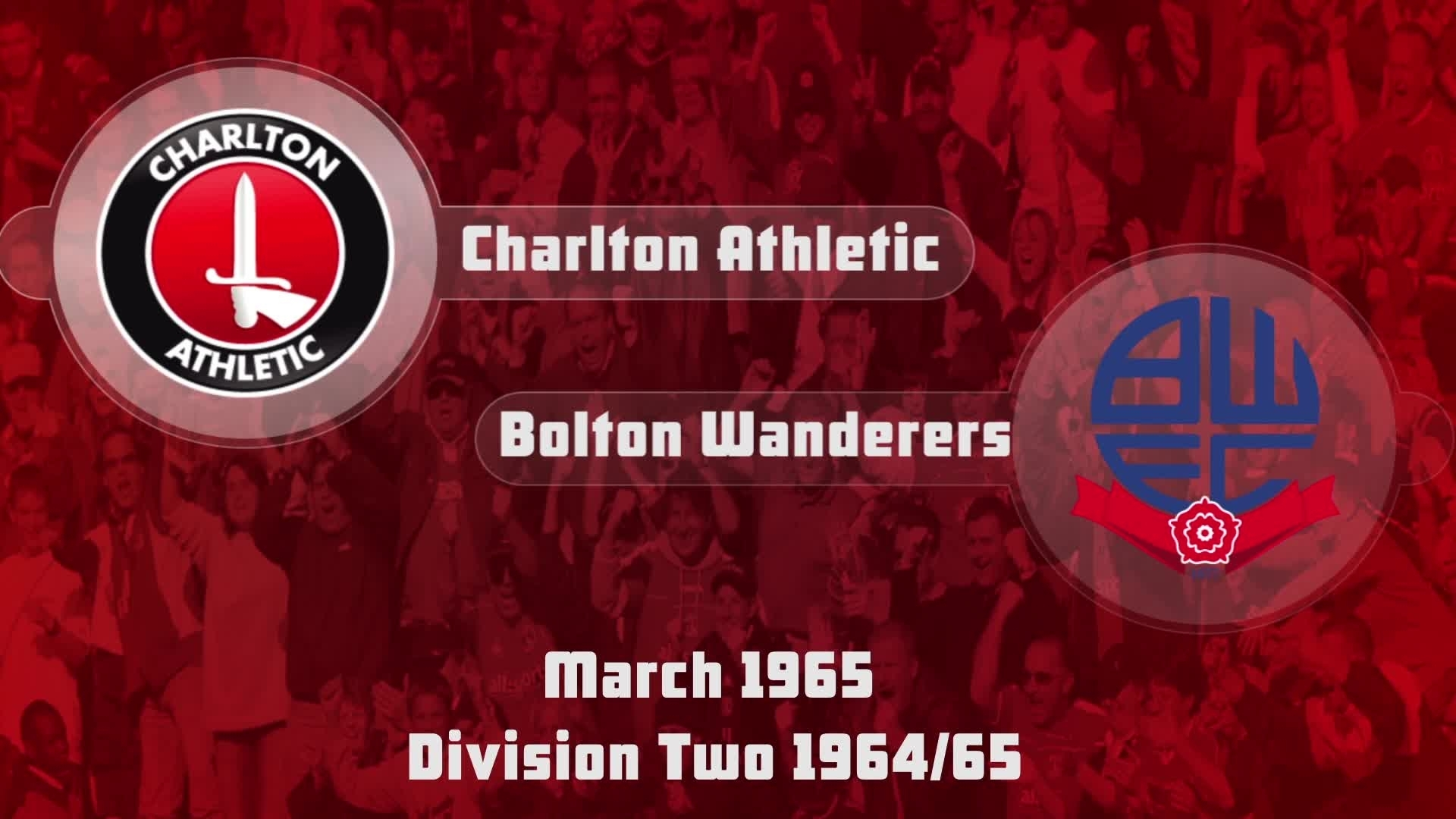 HIGHLIGHTS | Charlton 1 Bolton 3 (March 1965)