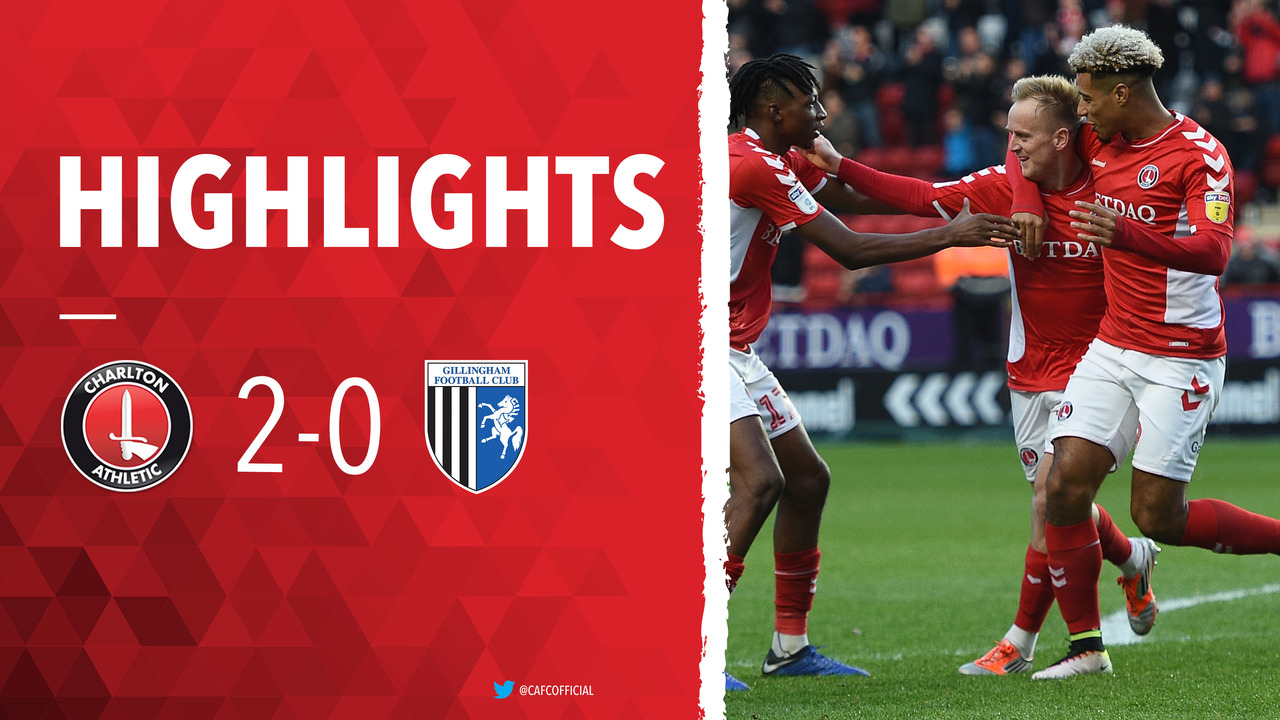 30 HIGHLIGHTS | Charlton 2 Gillingham 0 (December 2018)