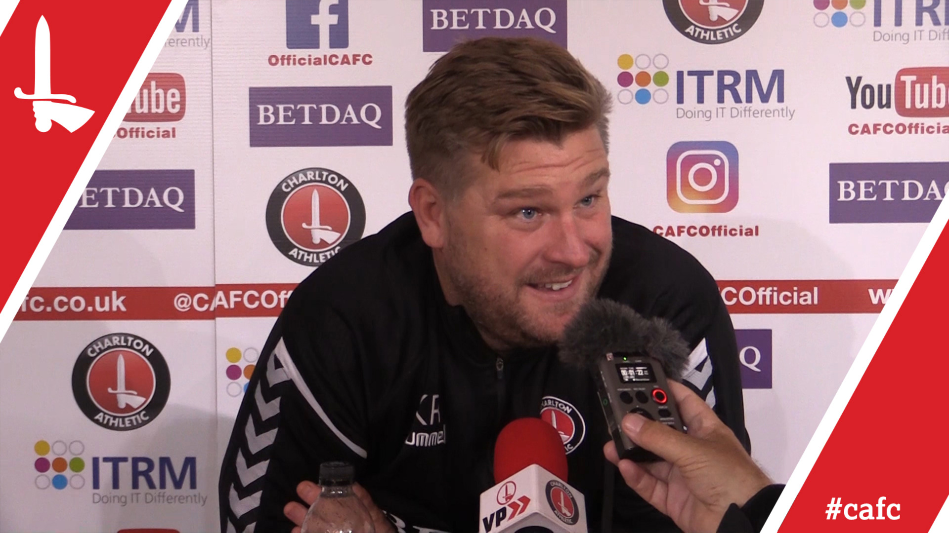 Karl Robinson looks ahead to the FA Cup fixture against Truro City