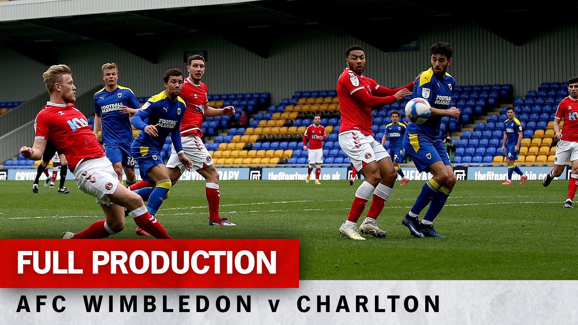 Charlton TV | Full broadcast - AFC Wimbledon (a) (March 2021)