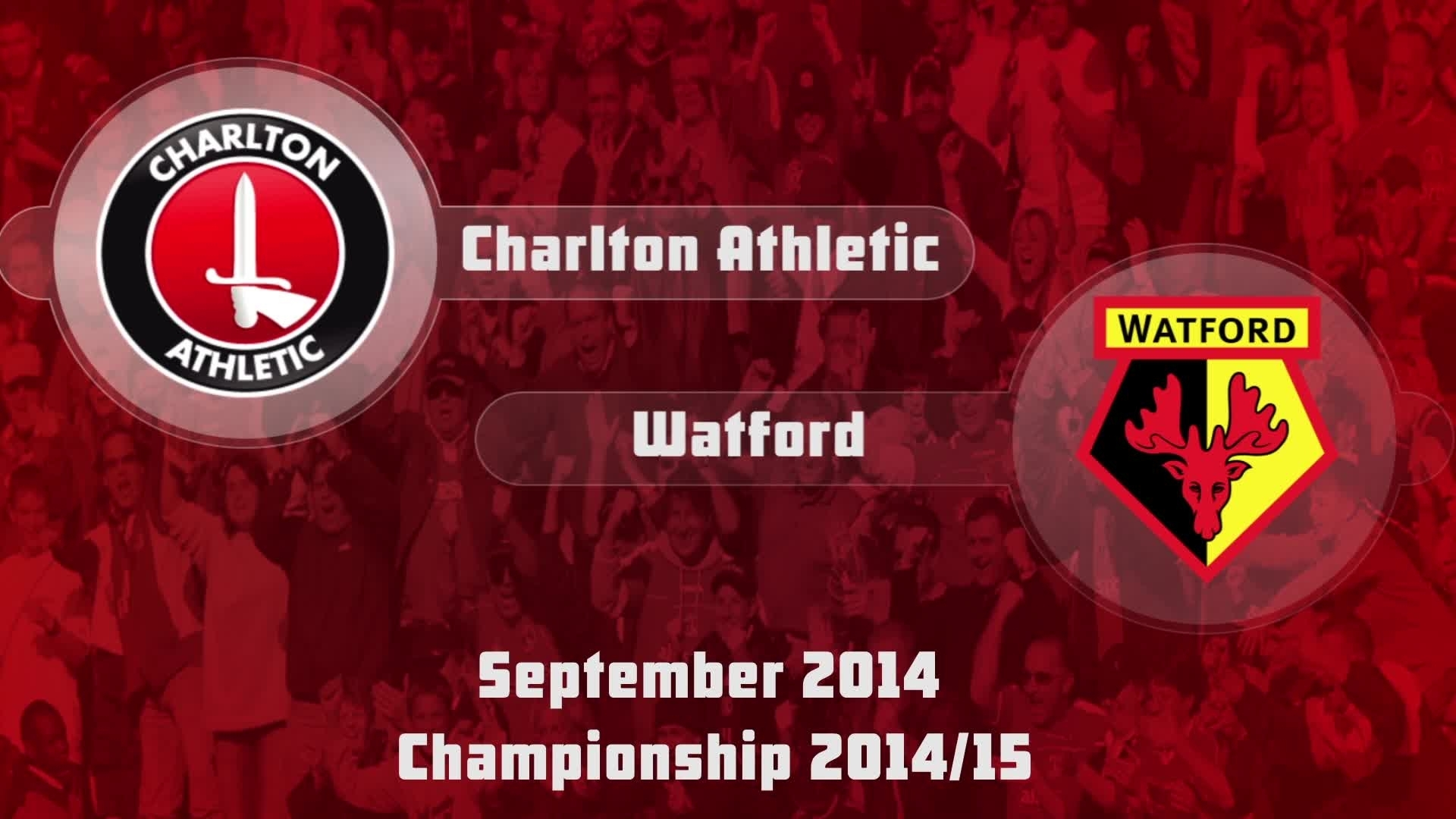 08 HIGHLIGHTS | Charlton 1 Watford 0  (Sept 2014)