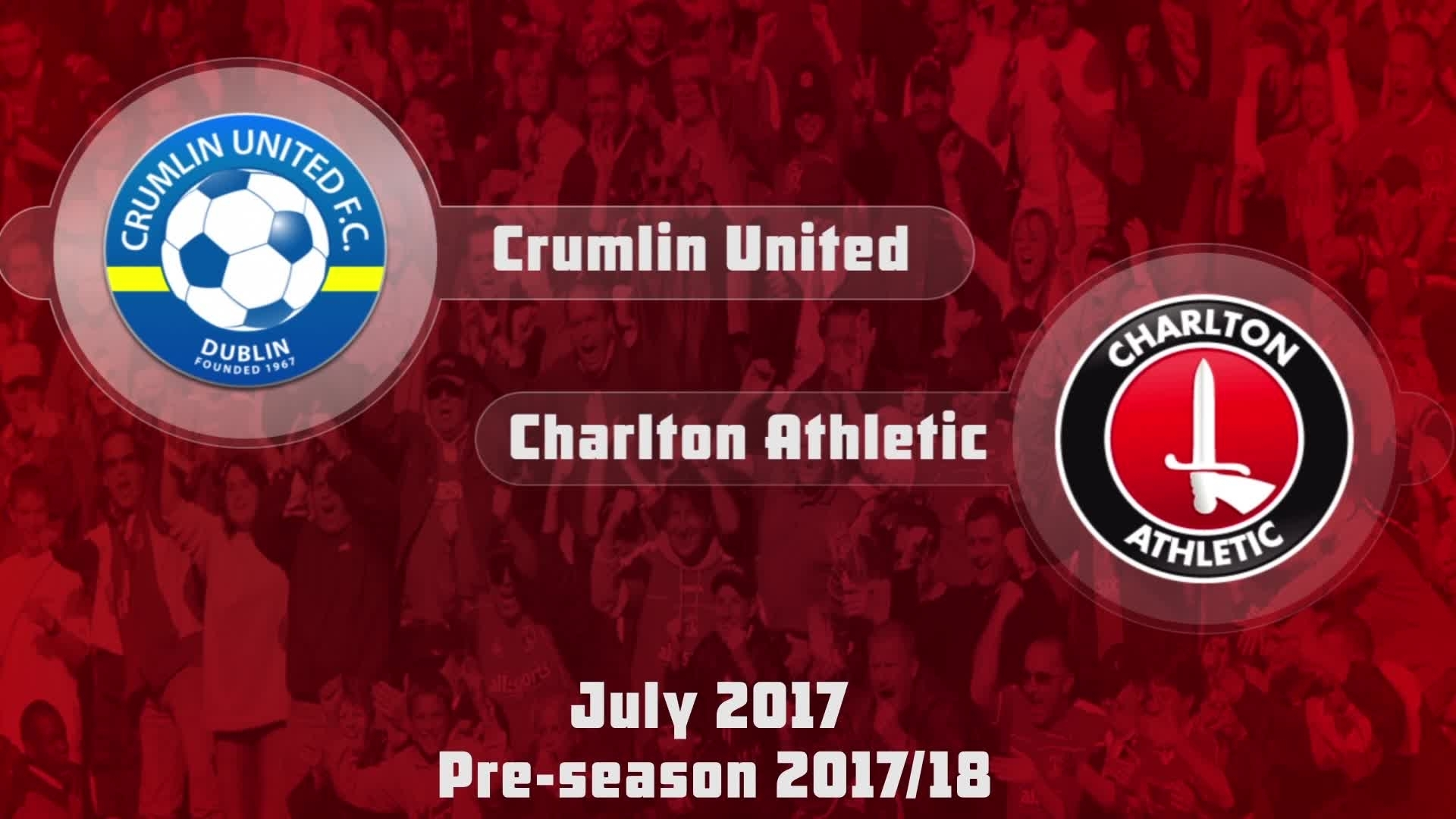 HIGHLIGHTS | Crumlin United 0 Charlton 5