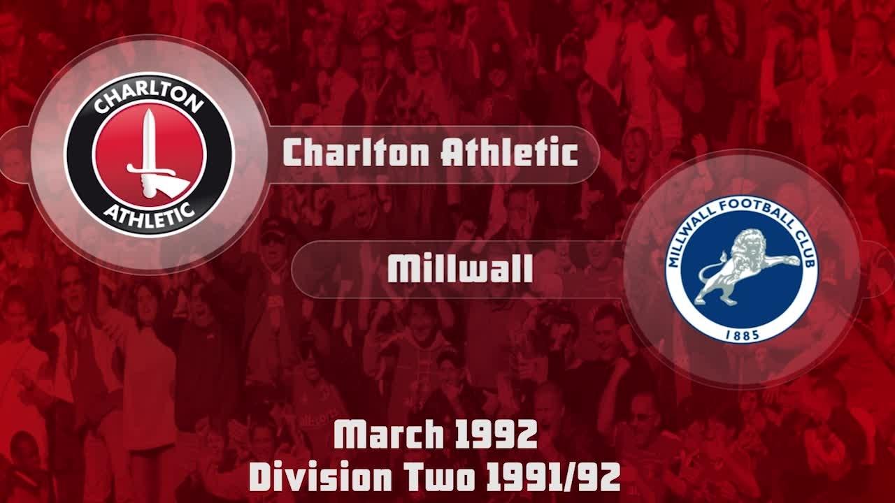 43 HIGHLIGHTS | Charlton 1 Millwall 0 (March 1992)