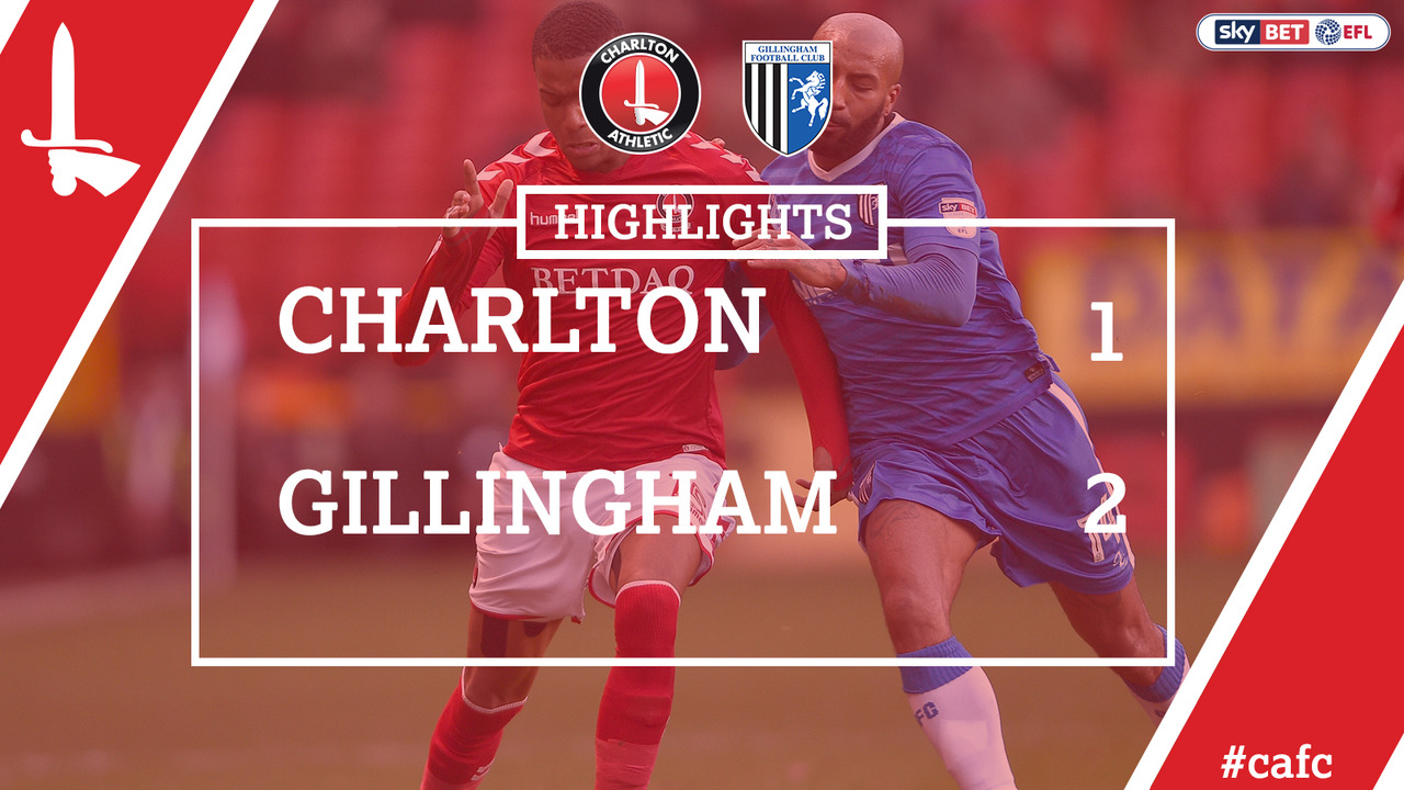 33 HIGHLIGHTS | Charlton 1 Gillingham 2 (Jan 2018)