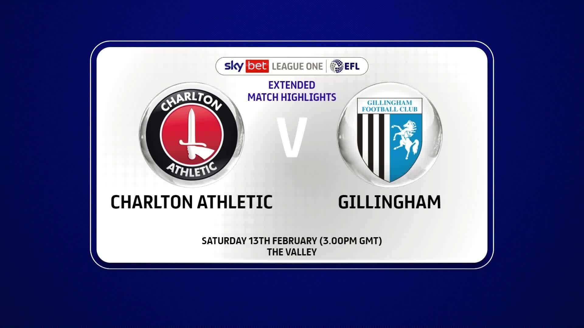 EXTENDED | Charlton 2 Gillingham 3 (Feb 2021)