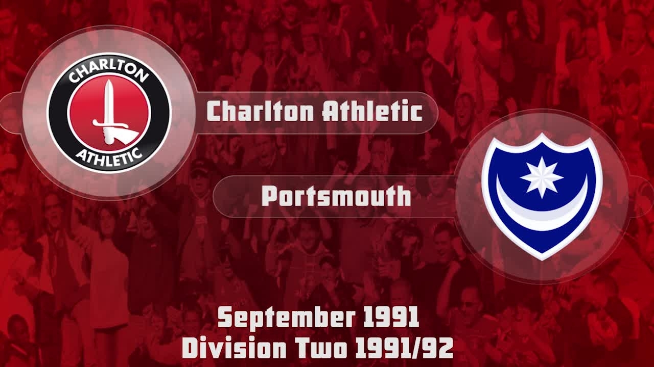 08 HIGHLIGHTS | Charlton 3 Portsmouth 0 (Sept 1991)