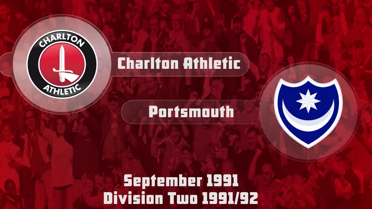 08 HIGHLIGHTS | Charlton 3 Portsmouth 0 (Sept 1991)