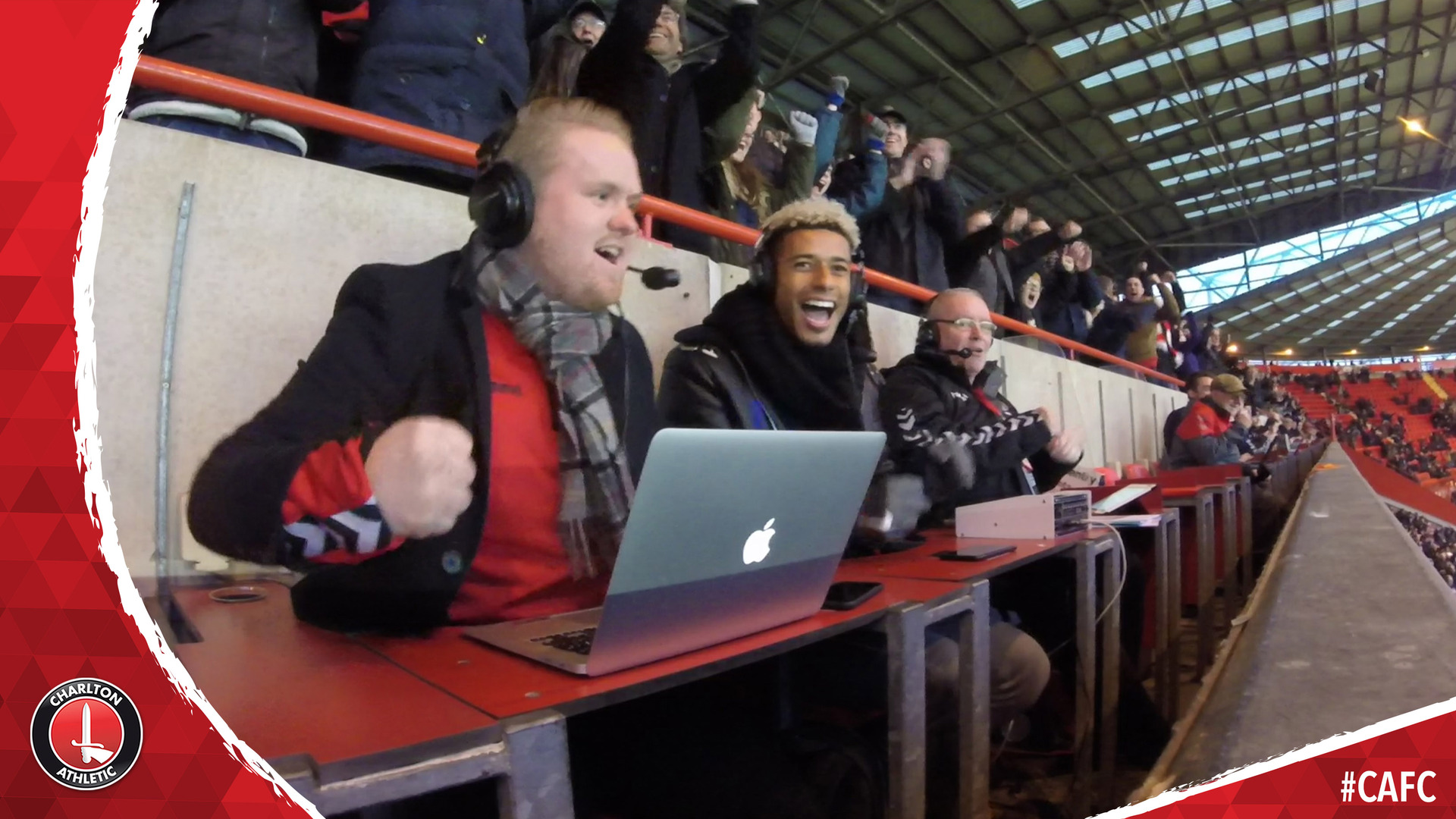 Lyle Taylor commentates on Charlton's 3-1 win over Bristol Rovers