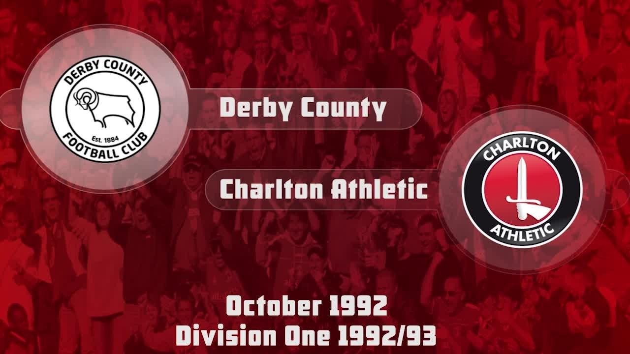 17 HIGHLIGHTS | Derby 4 Charlton 3 (Oct 1992)