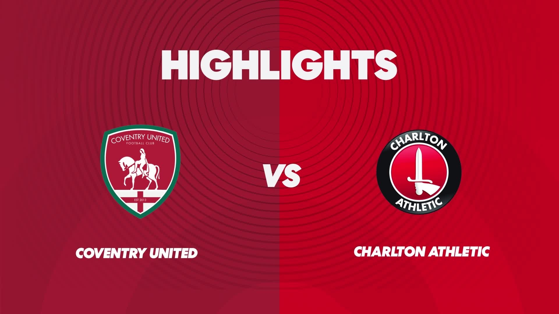 Women's highlights | Coventry United 0 Charlton 2 (February 2021)