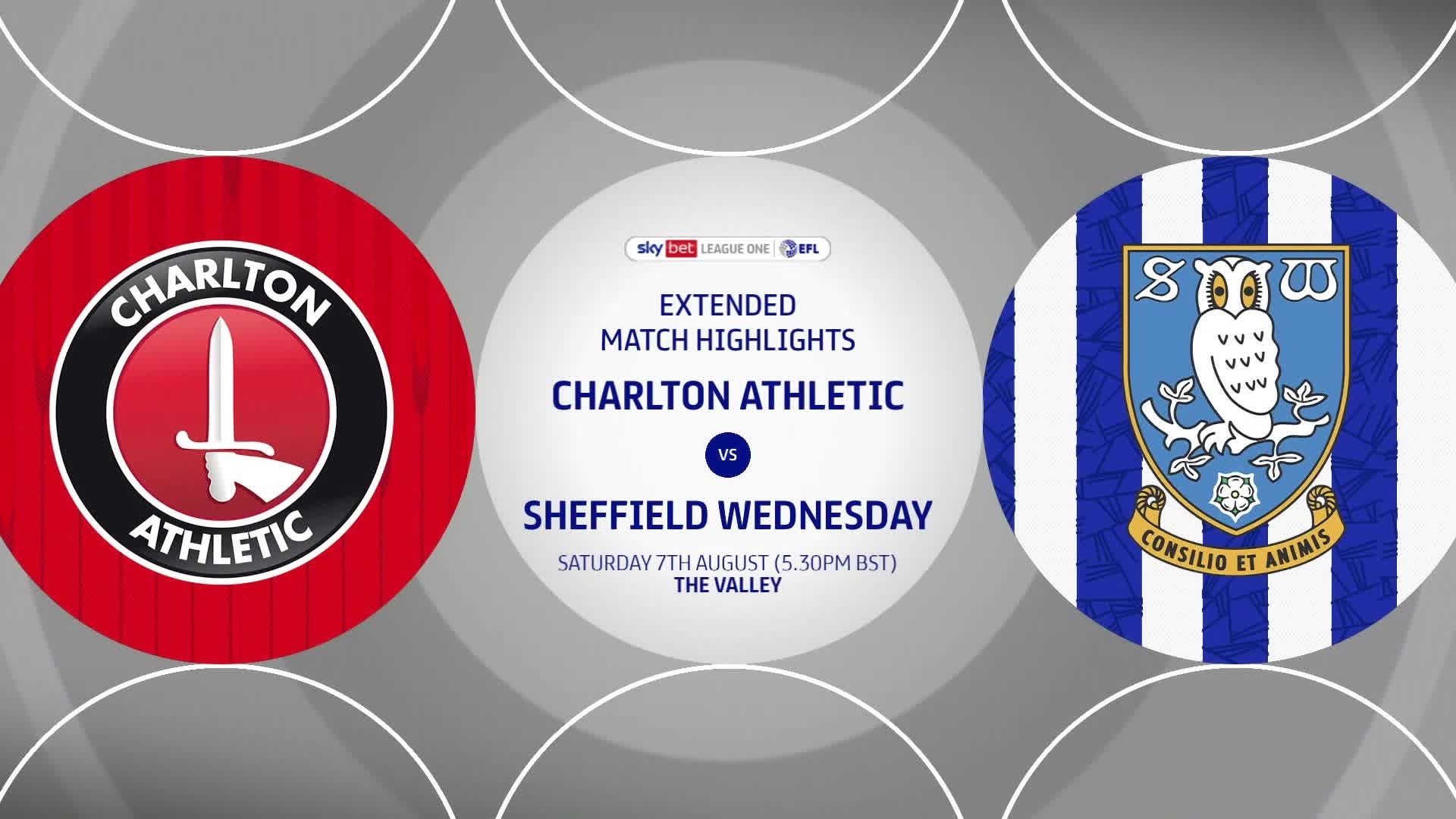 HIGHLIGHTS | Charlton 0 Sheffield Weds 0