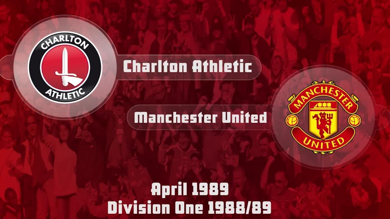 40 HIGHLIGHTS   Charlton 1 Man Utd 0 (April 1989)
