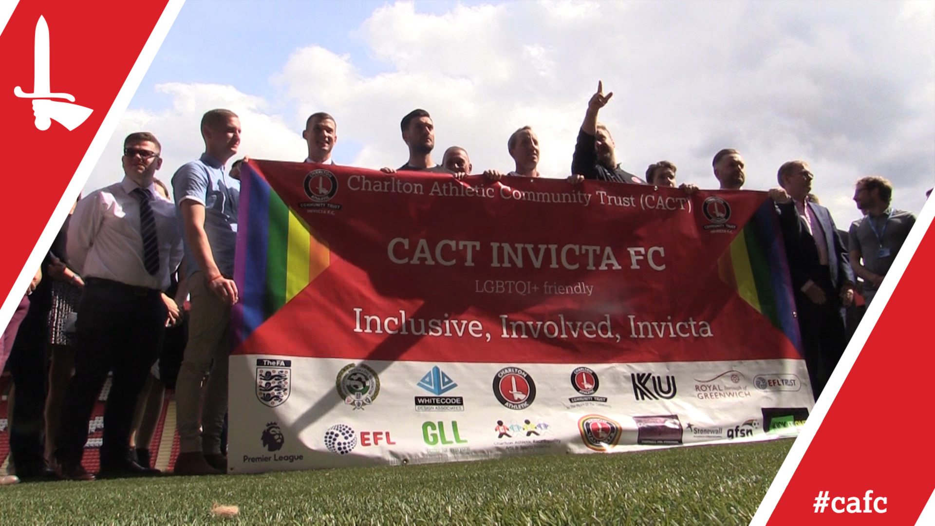 Charlton launch CACT Invicta FC