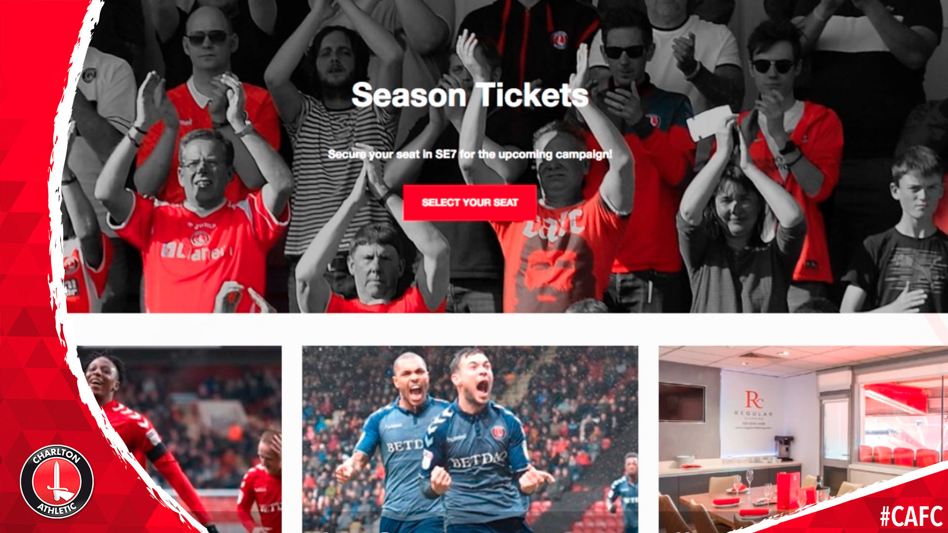 Buying a season ticket on the new ticketing system