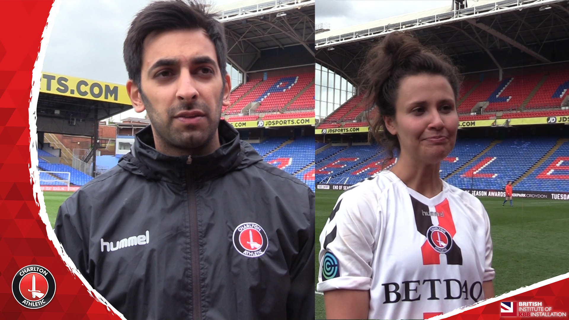 WOMEN'S REACTION | Riteesh Mishra and Liz Ejupi pleased with Palace victory