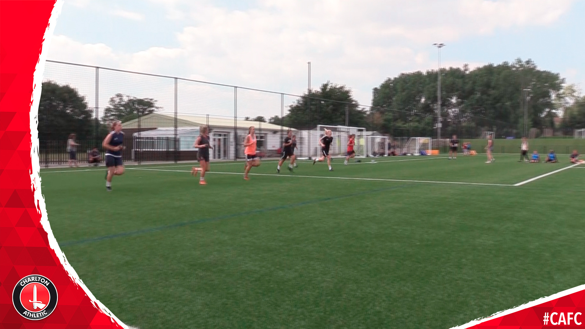 Charlton women return to training