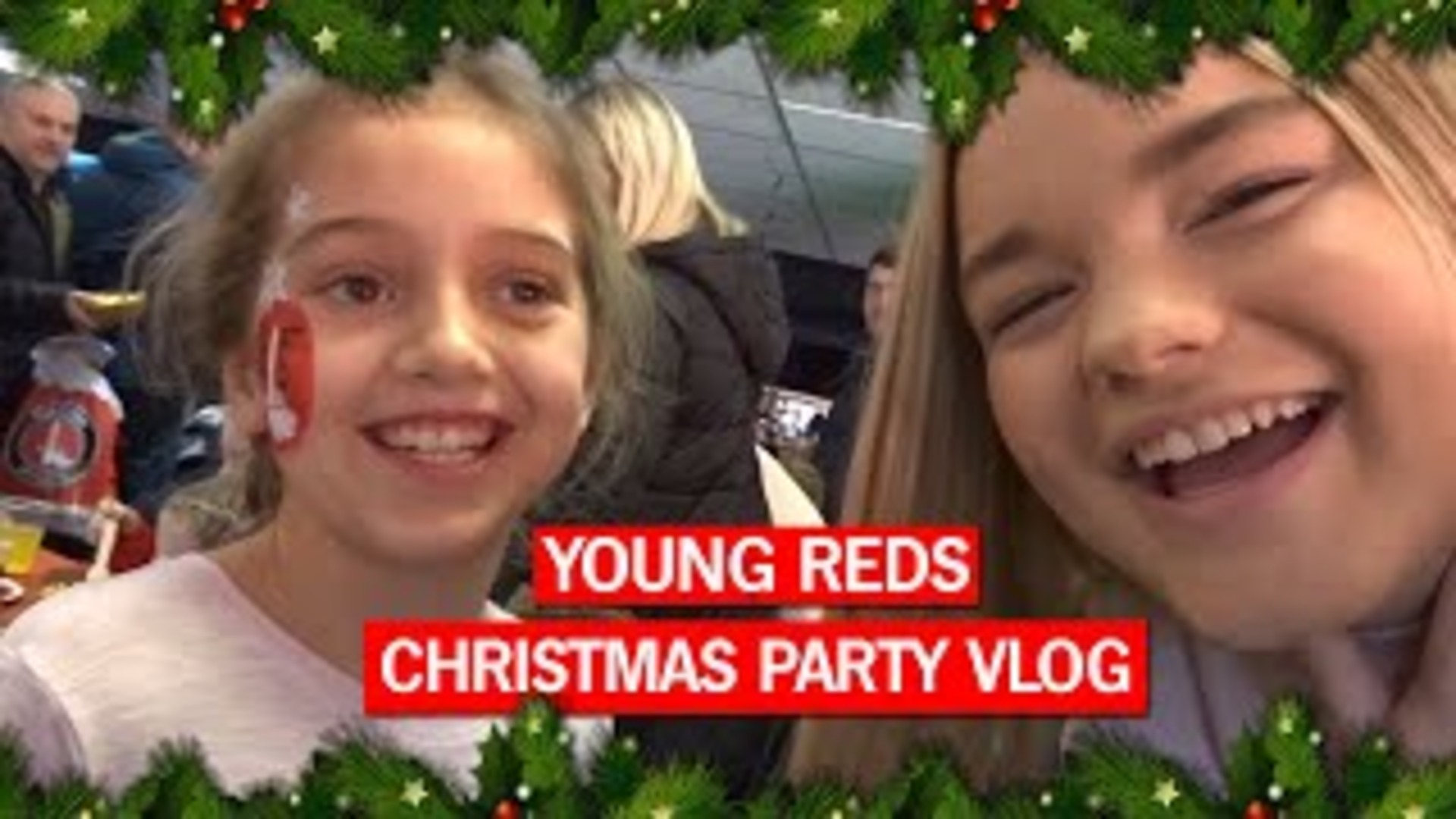 Millie Edmundson at Charlton Athletic's Young Reds' Christmas Party!