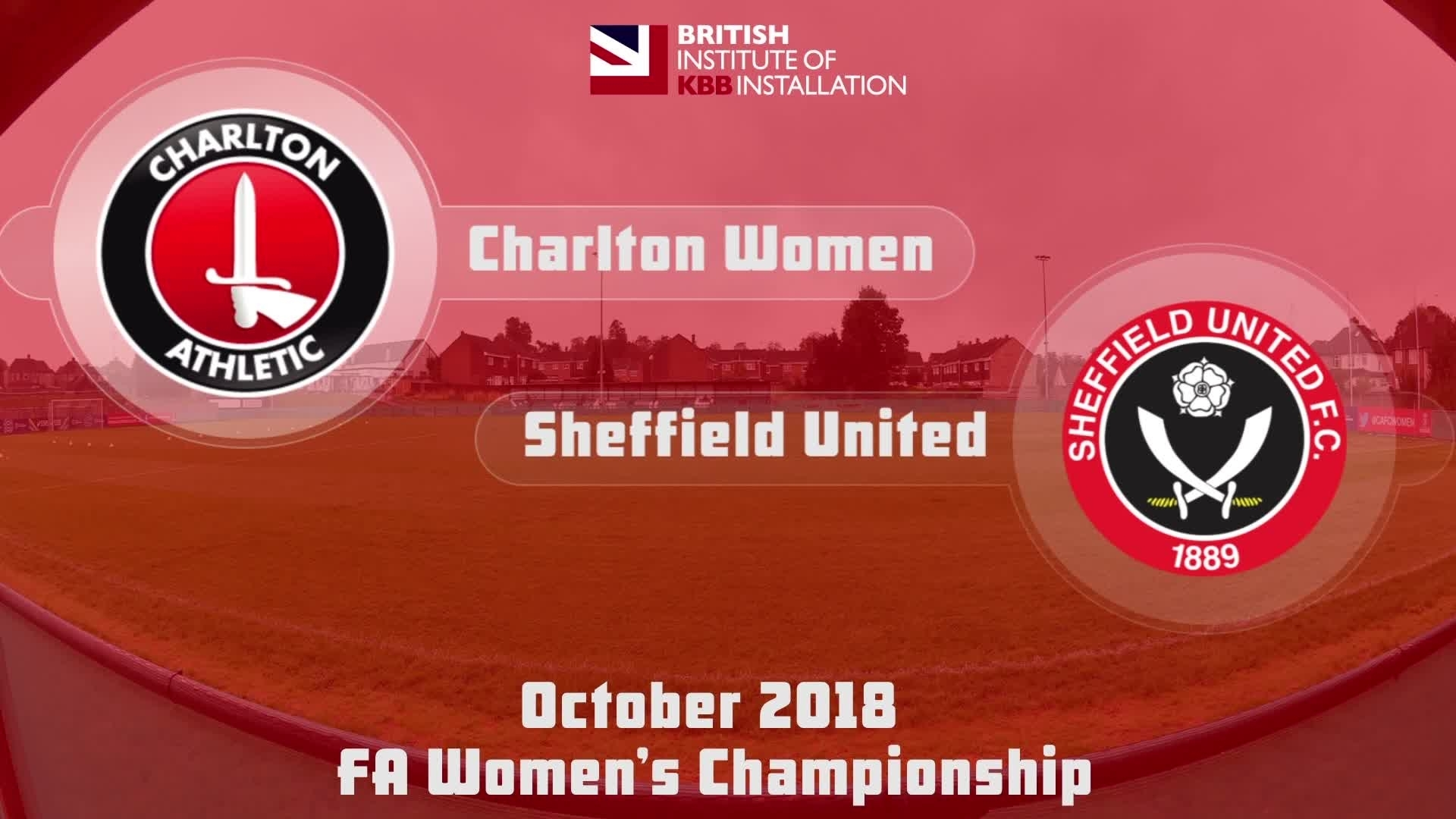 WOMEN HIGHLIGHTS | Charlton 2 Sheff Utd 0 (Oct 2018)