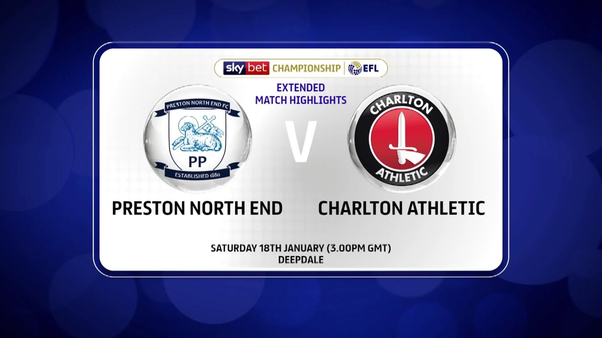 HIGHLIGHTS | Preston North End 2 Charlton 1 (January 2020)