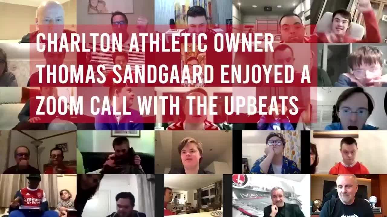 Thomas Sandgaard's call with the Charlton Upbeats (April 2021)